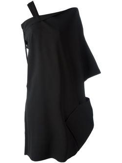 Платье С Лямкой Issey Miyake                                                                                                              чёрный цвет