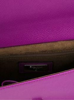 Клатч С Откидным Клапаном Serapian                                                                                                              розовый цвет