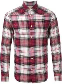 Рубашка В Клетку FADTHREE                                                                                                              красный цвет