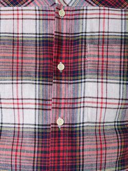 Рубашка В Клетку FAD THREE                                                                                                              красный цвет
