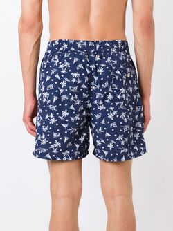 Шорты Для Плавания Polo Ralph Lauren                                                                                                              синий цвет