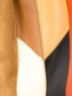 Сумка Через Плечо Patchwork Prince Bucket Derek Lam 10 Crosby                                                                                                              коричневый цвет