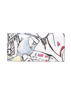 Кошелек С Откидным Клапаном Emilio Pucci                                                                                                              белый цвет