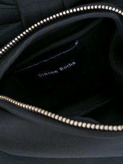 Клатч С Объемной Ручкой-Бантом Simone Rocha                                                                                                              чёрный цвет