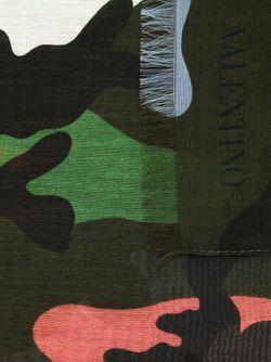 Шарф С Камуфляжным Принтом Valentino Garavani                                                                                                              зелёный цвет