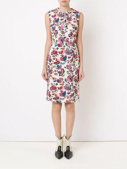 Floral Shift Dress Reinaldo Lourenço                                                                                                              многоцветный цвет