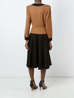 Платье С Запахом LOUIS FERAUD VINTAGE                                                                                                              коричневый цвет