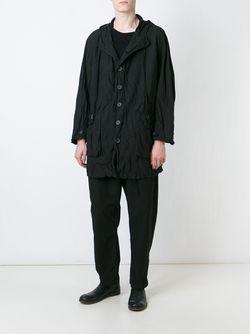 Пальто С Капюшоном CASEY CASEY                                                                                                              чёрный цвет