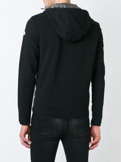 Кардиган На Пуху С Капюшоном Moncler                                                                                                              черный цвет
