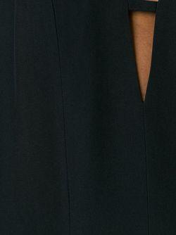 Платье Chryssa C V-Образным Вырезом Dondup                                                                                                              чёрный цвет