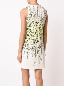 Платье-Шифт С Оборками Giambattista Valli                                                                                                              белый цвет