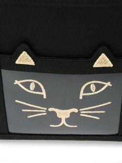Сумка-Тоут Feline Charlotte Olympia                                                                                                              чёрный цвет