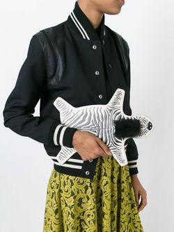 Клатч Out Of Africa Charlotte Olympia                                                                                                              черный цвет