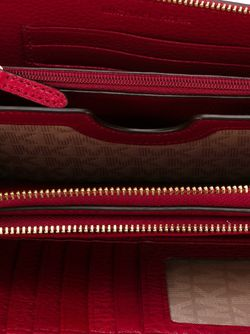 Кошелек С Логотипом Michael Michael Kors                                                                                                              красный цвет