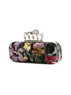 Клатч-Футляр Knuckle Alexander McQueen                                                                                                              черный цвет