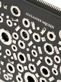 Клатч С Люверсами Alexander McQueen                                                                                                              черный цвет