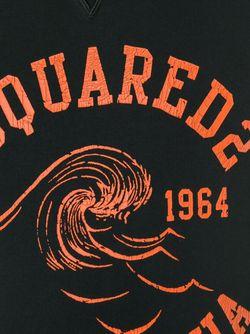Толстовка С Логотипом Dsquared2                                                                                                              чёрный цвет