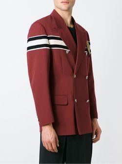 Двубортный Пиджак JEAN PAUL GAULTIER VINTAGE                                                                                                              красный цвет