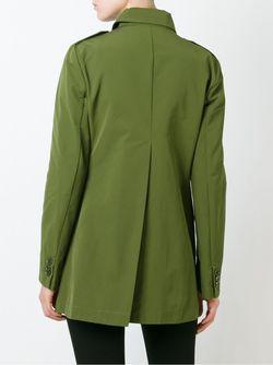 Короткое Двубортное Пальто Aspesi                                                                                                              зелёный цвет