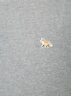Свитер С Логотипом Maison Kitsune                                                                                                              серый цвет