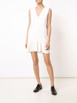 Платье С Расклешенным Подолом See By Chloe                                                                                                              белый цвет
