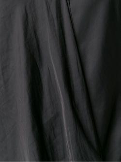 Драпированный Топ Cedric Charlier                                                                                                              черный цвет