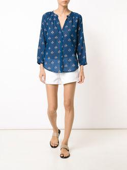 Блузка Sammy Paige                                                                                                              синий цвет