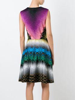 Расклешенное Платье С Орнаментом Missoni                                                                                                              многоцветный цвет