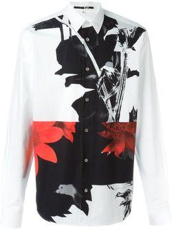 Рубашка Shields Mcq Alexander Mcqueen                                                                                                              белый цвет