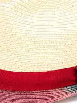 Соломенная Шляпа С Контрастной Окантовкой Paul Smith                                                                                                              Nude & Neutrals цвет