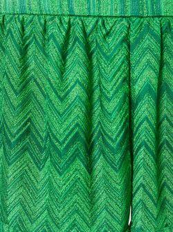 Шорты С Зигзагообразным Узором Missoni                                                                                                              зелёный цвет