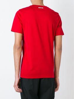 Футболка С Круглым Вырезом Les Hommes                                                                                                              красный цвет