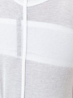 Облегающий Топ Без Рукавов Rick Owens Lilies                                                                                                              белый цвет