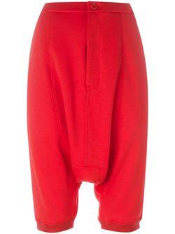 Drop-Crotch Track Shorts Y-3                                                                                                              красный цвет