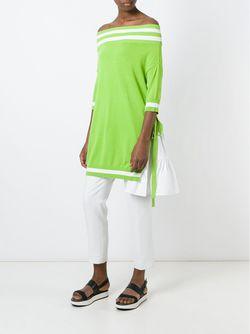 Off-Shoulder Oversized Sweater I'm Isola Marras                                                                                                              зелёный цвет