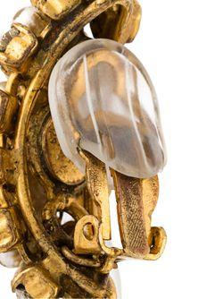 Серьги-Подвески С Жемчугом Chanel Vintage                                                                                                              серебристый цвет