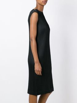 Платье С Гофрированным Дизайном PLEATS PLEASE BY ISSEY MIYAKE                                                                                                              чёрный цвет