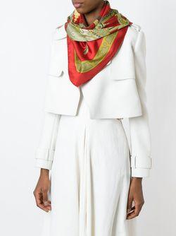 Платок Diane Hermès Vintage                                                                                                              красный цвет