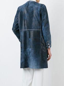 Пальто Beluga Sylvie Schimmel                                                                                                              синий цвет