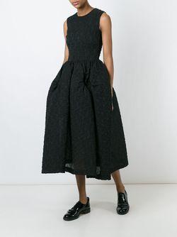 Платье С Пышной Юбкой Simone Rocha                                                                                                              черный цвет