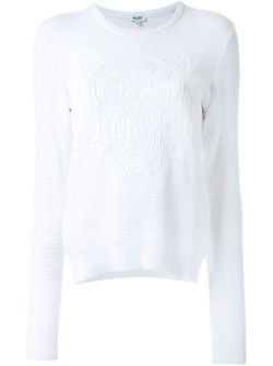 Tiger Sweater Kenzo                                                                                                              белый цвет