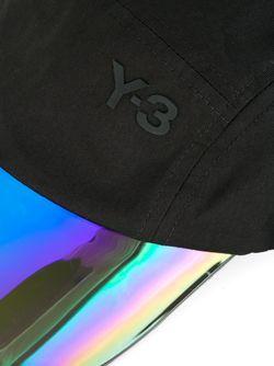Кепка С Переливающимся Козырьком Y-3                                                                                                              черный цвет