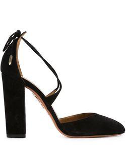 Туфли Karlie Aquazzura                                                                                                              черный цвет