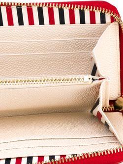 Panelled Wallet Thom Browne                                                                                                              белый цвет