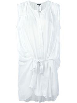 Блузка Без Рукавов Ann Demeulemeester                                                                                                              белый цвет