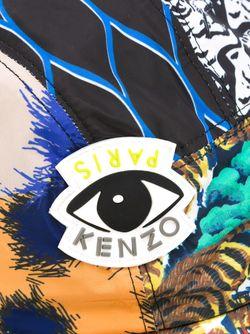 Кепка С Комбинированным Принтом Kenzo                                                                                                              многоцветный цвет