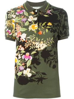 Print Polo Shirt Etro                                                                                                              зелёный цвет
