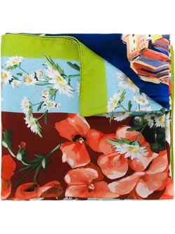 Шарф С Принтом Portofino Dolce & Gabbana                                                                                                              многоцветный цвет