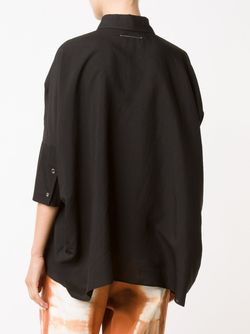 Half Sleeve Loose Shirt MM6 by Maison Margiela                                                                                                              черный цвет