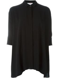 Рубашка Свободного Кроя Alberto Biani                                                                                                              черный цвет